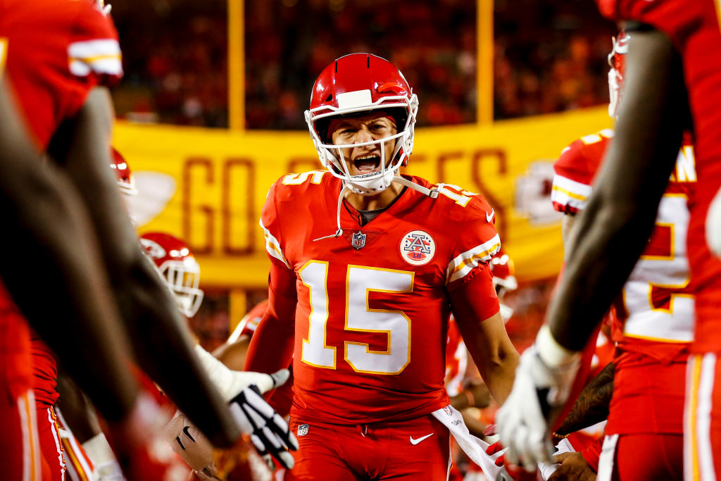Patrick Mahomes is the favourite to win NFL MVP