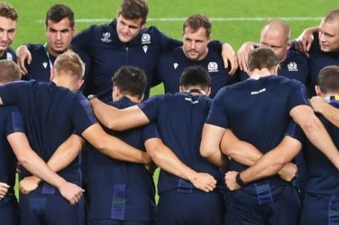 Scotland prepare to face Japan in the Rugby World Cup