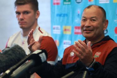 Eddie Jones prior to New Zealand and England.