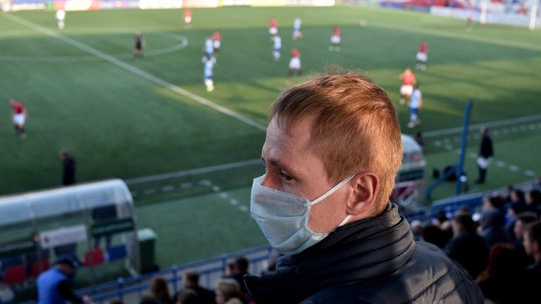 Coronavirus Football in Belarus