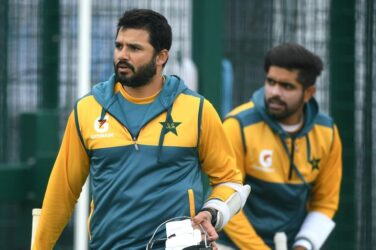 Pakistan cricketers prepare for Test against England